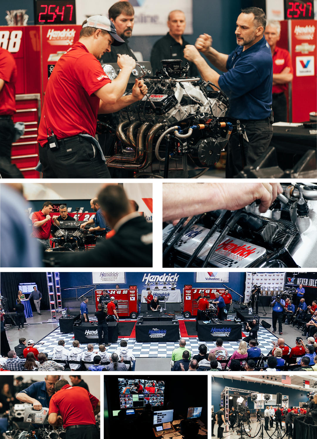 Hendrick:  We love the smell of engines in the...
