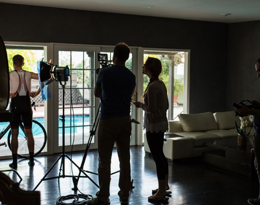 #bts from the #giordanacycling shoot in California...