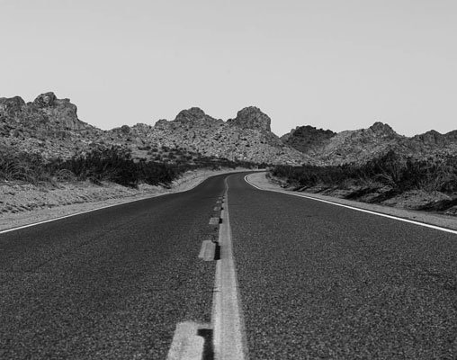 The Classic road shot. It may be cliche, but...